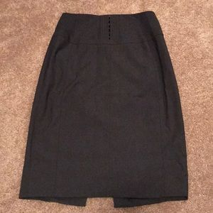 Express high waist skirt